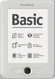 PocketBook 613 Basic New белый